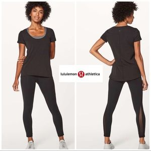 NEW Lululemon Another Round Tee In Black
